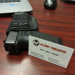 action firearms and accessories inc business cards