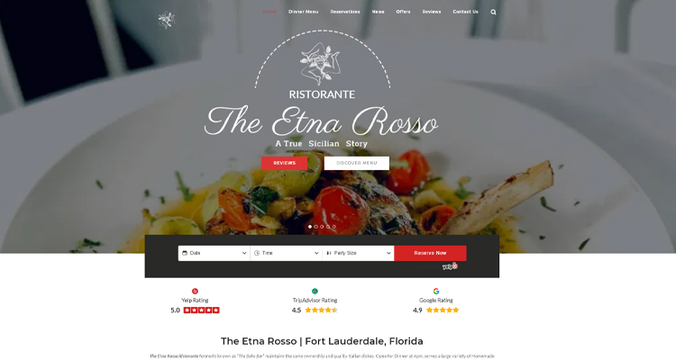 the etna rosso